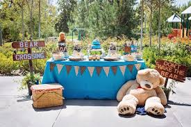 teddy centerpieces for baby shower kara s party ideas teddy picnic baby shower