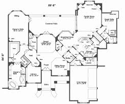 square house floor plans square house plans luxury european style house plan 5 beds 5 00