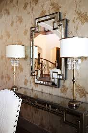 dallas horchow mirrors dining room contemporary with brass l