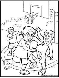 Basketball Coloring Sheets Awesome Basketball Coloring Pages Basketball Color Page