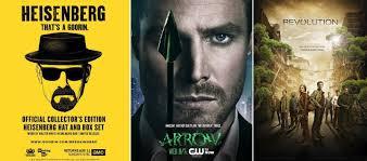 Comic Con 2013 Breaking Bad Arrow E Revolution