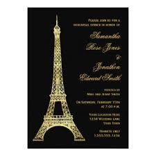 eiffel tower invitations gold eiffel tower invitations announcements zazzle ca