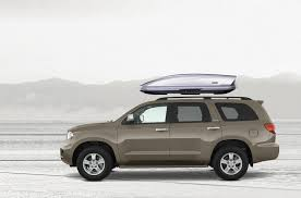 roof rack for toyota sequoia toyota sequoia rooftop cargo box