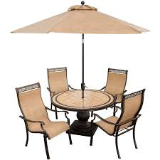 Outdoor Patio Dining Sets With Umbrella The 25 Best Patio Set With Umbrella Ideas On Pinterest Outdoor