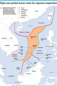 China Sea Map by Potential For Collaboration In Area Beyond National Jurisdiction
