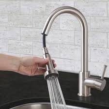 vigo stainless steel pull out kitchen faucet vigo single handle pull sprayer kitchen faucet in stainless