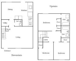Floor Plan Of 2 Bedroom Flat 2 Bedroom 2 Bath Apartment Floor Plans Comfortable 3 Apartment