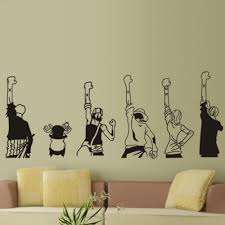 anime wall stickers part 38 creative diy wall art of japanese anime wall stickers part 38 creative diy wall art of japanese anime one piece luffy wall stickers kids rooms home decoration