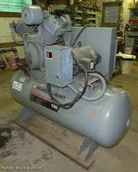 1993 ingersoll rand t30 air compressor item l4092 sold
