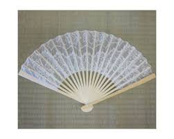 lace fans white lace folding wedding fan
