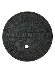 new orleans water meter necklace cast iron new orleans water meter trivet fleurty girl