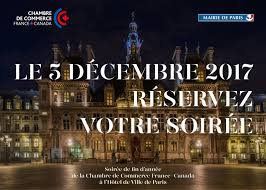 chambre du commerce du canada date à retenir 5 décembre 2017 soirée canada à l hôtel de