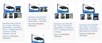 amazon black friday playstation ofertas de packs de la ps4 en amazon por black friday tuexperto com