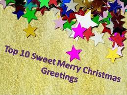 top 10 sweet merry greetings