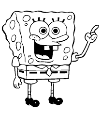 free printable spongebob squarepants coloring pages spongebob