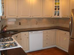 kitchen backsplash mosaic tile designs cabinet stain ideas dark