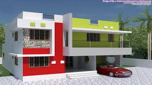 Row House Front Elevation - kerala style house plans within 1000 sq ft youtube