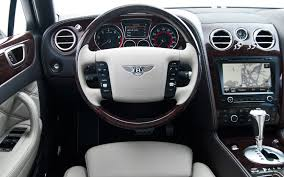 bentley steering wheels 2012 bentley continental flying spur speed first test motor trend