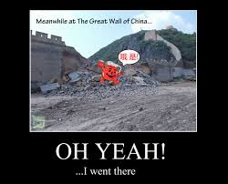 Koolaid Meme - the great wall of china busted by the kool aid man know your meme