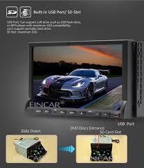 Portable Aux Port For Car Eincar Online Universal Bluetooth Car Audio Stereo 2 Din 7 Inch