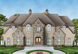 plan 12278jl six bedroom luxury chateau bonus rooms sitting