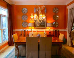 orange dining room orange color in your dining room why not