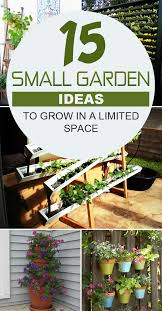 Garden Ideas For Small Spaces 15 Small Garden Ideas To Grow In A Limited Space