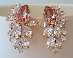 Pink Chandelier Earrings Chandelier Earrings Etsy