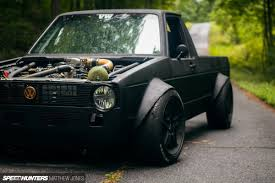 volkswagen rabbit truck interior the vw caddy from hell speedhunters