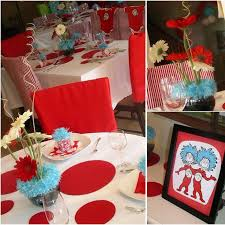 Thing One And Thing Two Party Decorations 73 Best Twins U0027 1st B Day Thing 1 And 2 Images On Pinterest