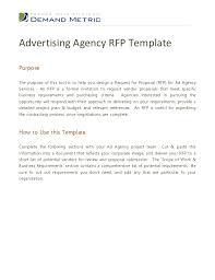 advertising agency rfp template 1 728 jpg cb u003d1354715580