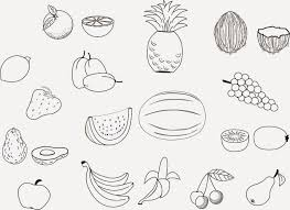 printable coloring pages of fruits coloring pages coloring pages