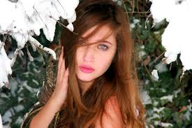 hairstyles for brown hair and blue eyes free images person snow winter girl flower model spring red