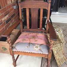 Mission Style Rocking Chair Antique Mission Style Furniture Collectors Weekly