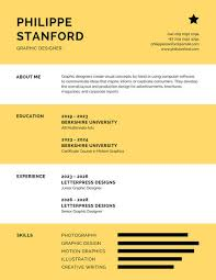 Infographic Resume Template Free Infographic Resume Templates Canva