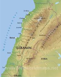 Beirut On Map They Aren U0027t All First Cousins Bedouin Marriage And Health
