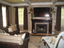 decoration family room design ideas with fireplace glass tile