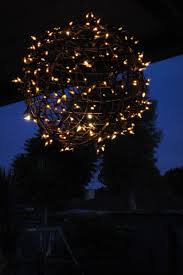 Christmas Light Balls For Trees 25 Amazing Diy Outdoor Christmas Decorations On A Budget