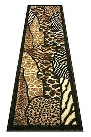 Leopard Print Runner Rug Chic Ideas Animal Print Runner Rug Incredible Decoration Khalaf