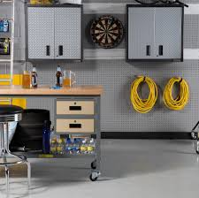glittering newage diamond plate garage cabinets with home depot