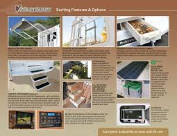 2012 alp adventurer truck campers brochure rv literature