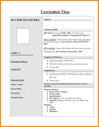 format to write resume resume format doc sample mba resume format