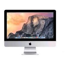 ordinateur de bureau reconditionné apple imac 21 5 led 1 to 8 go ram intel i5 à 2 7 ghz