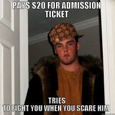 Haunted House Meme - working at a haunted house quickmeme