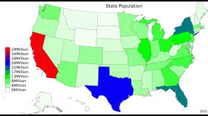 map us states population us state population map 1958 2014