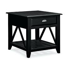 small black accent table black accent table with drawer and occasional furniture plantation