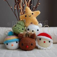 Amigurumi Christmas Ornaments - 10405 best crochet wanna learn this images on pinterest