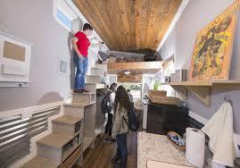 Tiny Home Interior Design Student Designed Built U0027tiny U0027 Homes To House Homeless Archone