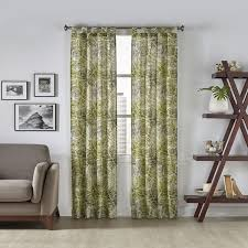 Curtain Pairs Pairs To Go Marley Tropical Window Curtain Panel Pair Free