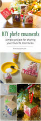 diy photo ornaments craft for christmas this adorable holiday